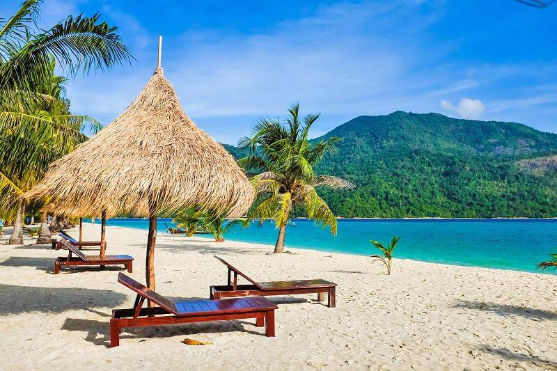 Praia paradisíaca em Cancún
