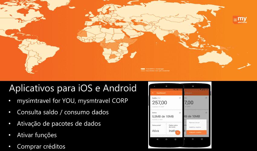 Aplicativo do Chip de Internet de celular para Cancún e México