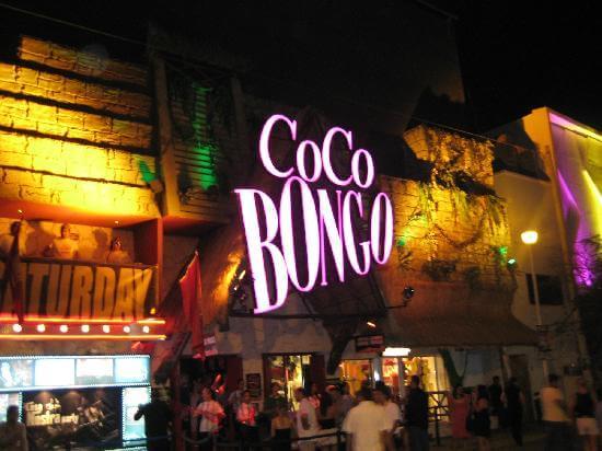 Boate Coco Bongo em Cancún