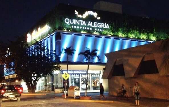 Shopping Quinta Alegria em Cancún