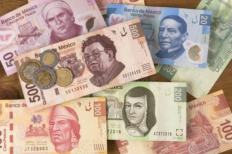 Notas de Pesos Mexicanos