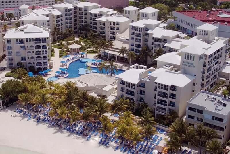 Hotel Resort Occidental Costa para ficar em Cancún