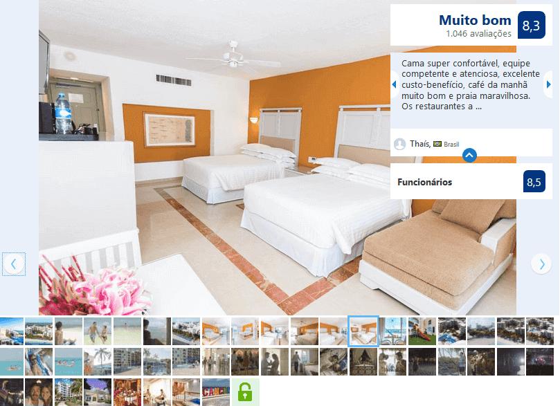 Hotel Resort Occidental Costa em Cancún