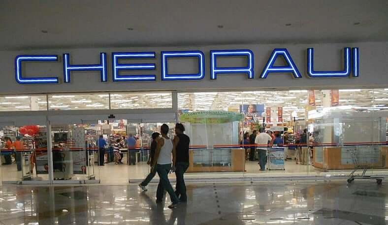 Loja Chedraui para comprar óculos escuros em Cancún