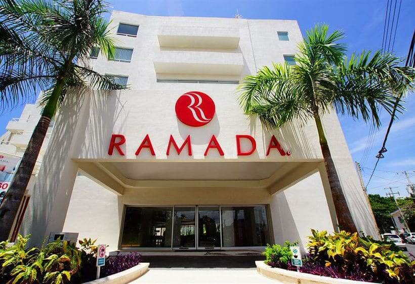 Hotel Ramada Cancun City no Centro de Cancun