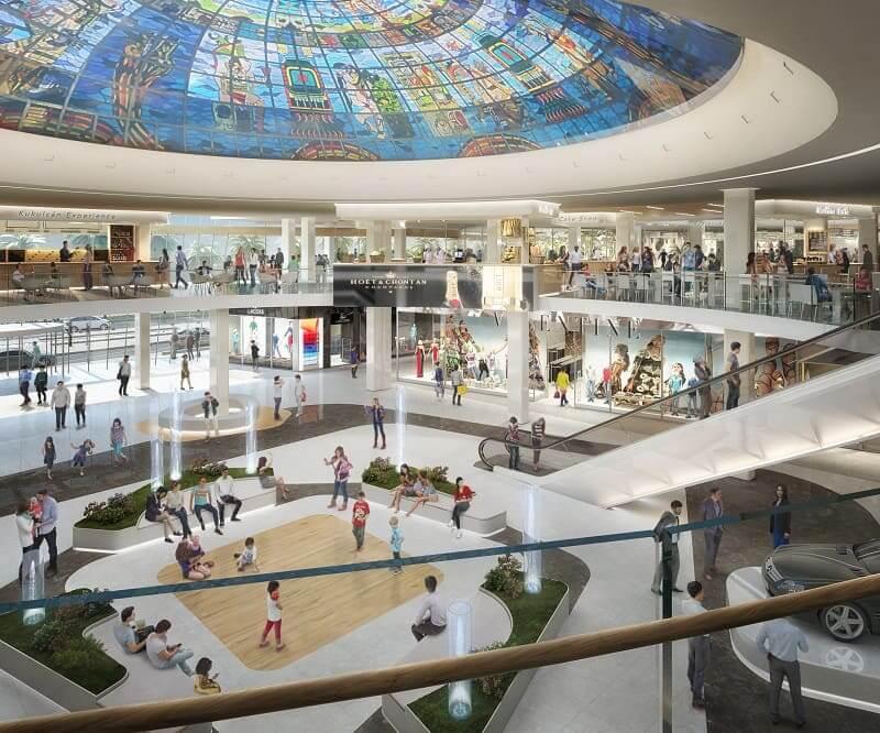 Kukulcan Plaza para comprar calçados em Cancún