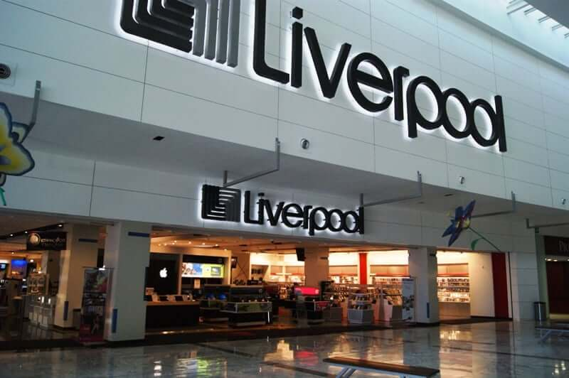 Loja Liverpool para comprar maquiagens em Cancún