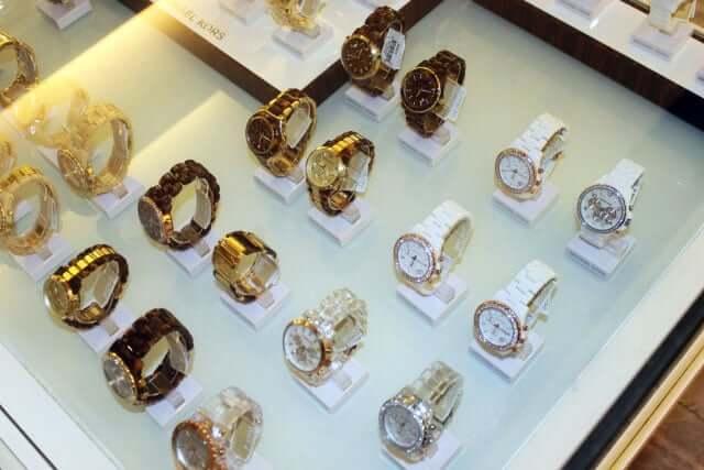 Loja Michael Kors para comprar relógios em Cancún
