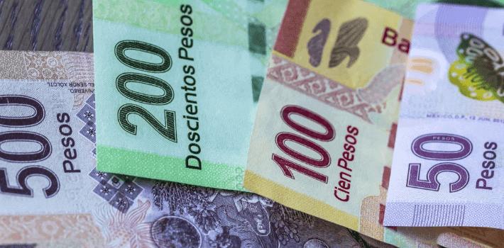 Pesos mexicanos em Cancún