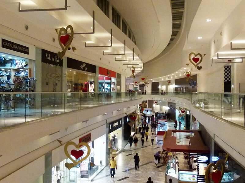 Compras no Shopping Plaza Las Americas em Cancún