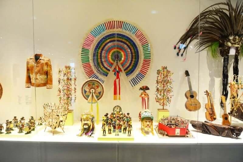 Estrutura do Museu de Arte Popular em Cancún