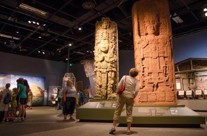 Passeio no Museu Maya em Cancún