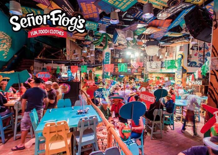 Señor Frog's em Cancún