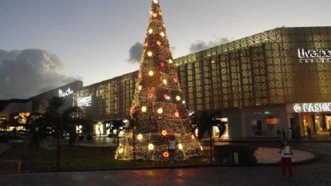Compras no Natal em Cancún