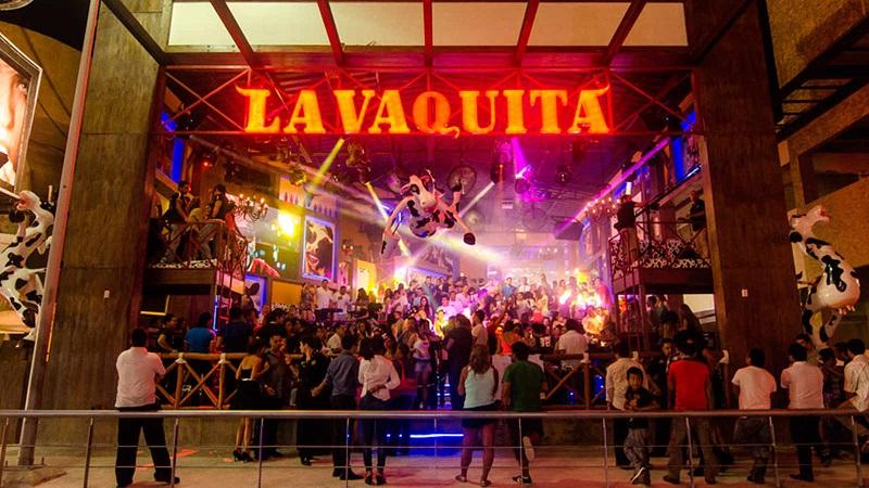 Bar La Vaquita no Ano Novo em Cancún