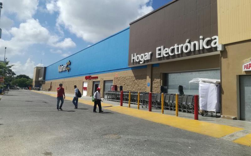 Walmart para compras em Cancún
